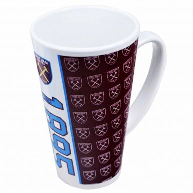 West Ham United Coffee Latte Mug