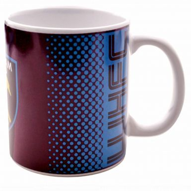 Official West Ham United Crest Ceramic Mug