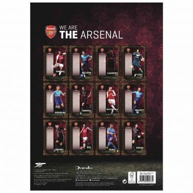 Official Arsenal FC 2018 Football Calendar