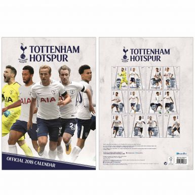 Tottenham Hotspur 2018 Spurs Soccer Calendar