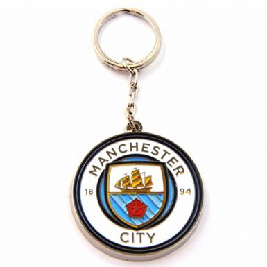 Official Manchester City Crest Keyring