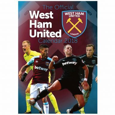 West Ham United 2018 Soccer Calendar