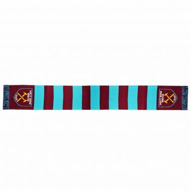 Official West Ham United 2018 Calendar & Scarf Gift Set