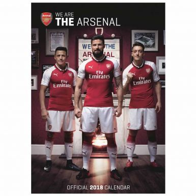 New Arsenal FC (Premier League) 2018 Soccer Calendar