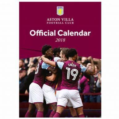 Aston Villa 2018 Football Calendar