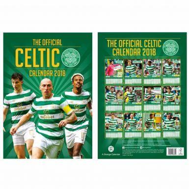 Official Celtic FC 2018 Soccer Calendar