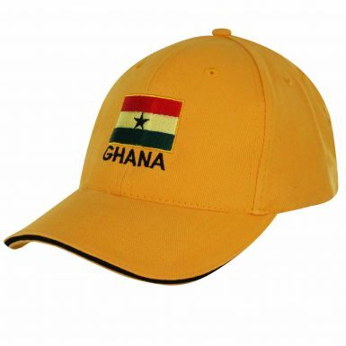 Adults Ghana Flag Baseball Cap