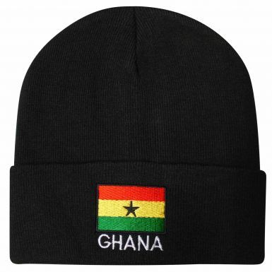Ghana Flag Winter Bronx Hat