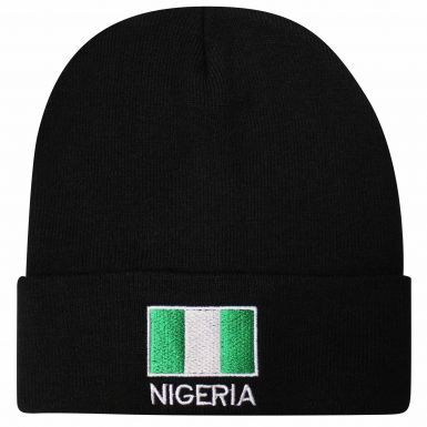 Nigeria Flag Embroidered Bronx Hat