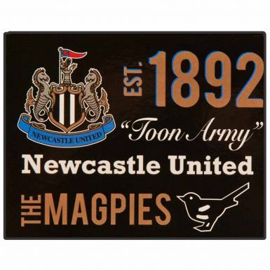 Giant Newcastle United Fleece Sherpa Blanket