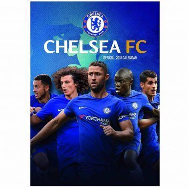 Chelsea FC 2018 Football Calendar (A3)