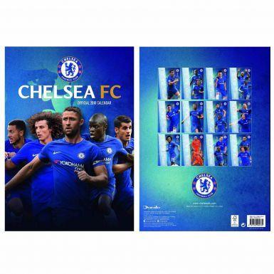 Chelsea FC 2018 Soccer Calendar (A3)