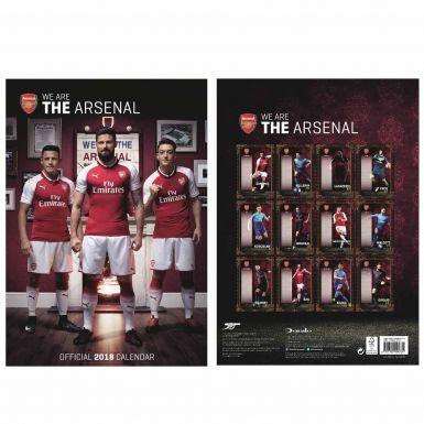 Official Arsenal FC 2018 Soccer Calendar (A3)