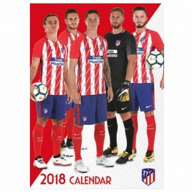 Official Atletico Madrid 2018 Soccer Calendar