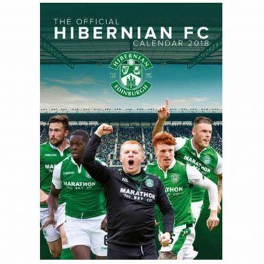 Hibernian FC 2018 Football Calendar