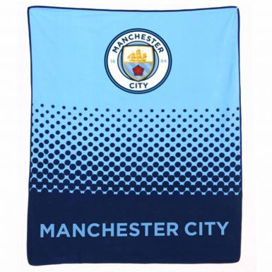 Official Manchester City Fleece Blanket