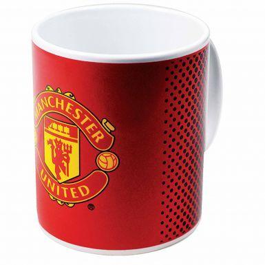Manchester United Ceramic Soccer Crest Mug