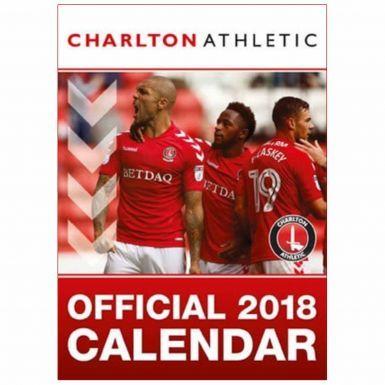 Official Charlton Athletic 2018 Football Calendar