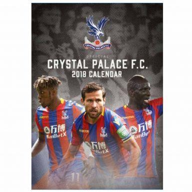 Official Crystal Palace 2018 Football Calendar