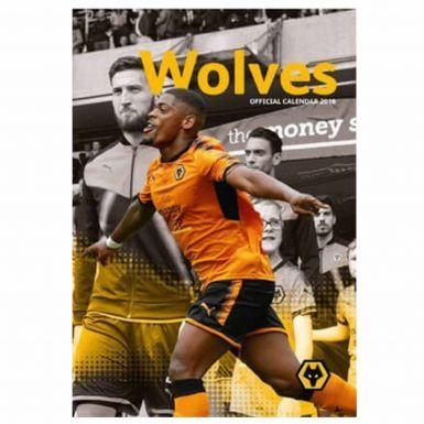 Wolverhampton Wanderers Wolves 2018 Football Calendar