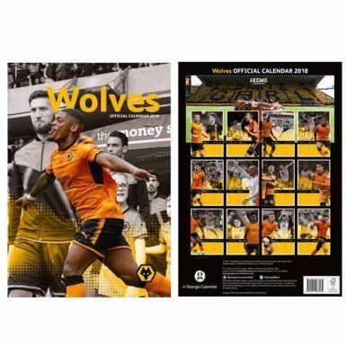 Wolverhampton Wanderers 2018 Soccer Calendar