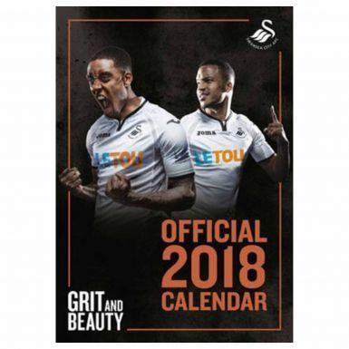 New Swansea City 2018 Football Calendar