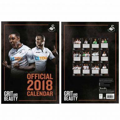Official Swansea City 2018 Soccer Calendar