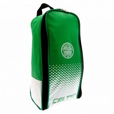 Official Zipped Celtic FC Crest Bootbag