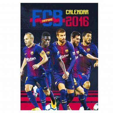 FC Barcelona (La Liga) 2018 Soccer Calendar