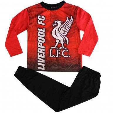 Kids Liverpool FC Crest Pyjamas With Full Colour Print