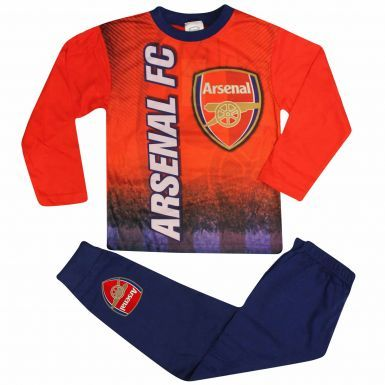 Kids Arsenal FC Crest Pyjamas With Full Colour Print