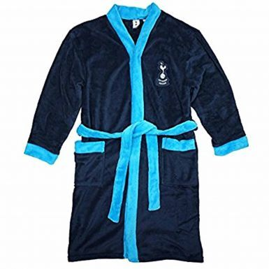 Official Spurs Football Crest Dressing Gown (Adults)