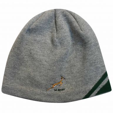 Official South Africa Springboks Rugby Beanie Hat by ASICS