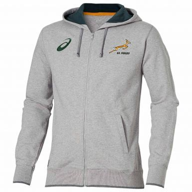 Official South Africa Springboks Rugby Hoodie by ASICS