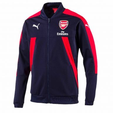 Official Arsenal FC Zipped Stadium Jacket by Puma