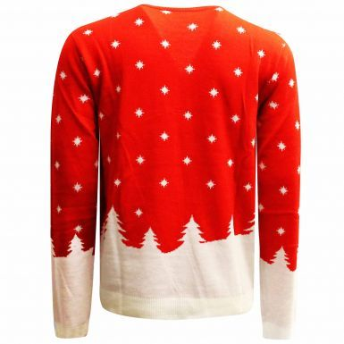 Official Liverpool FC Knitted Christmas Jumper (Adults & Unisex)