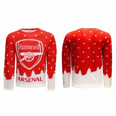 Official Arsenal FC Knitted Christmas Sweater (Adults & Unisex)