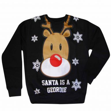 Newcastle XMAS Santa is a Geordie Sweatshirt
