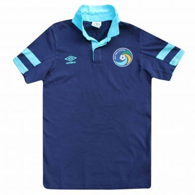 NY Cosmos (MLS) Crest Polo Shirt by Umbro