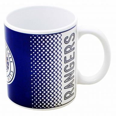 Official Rangers FC Football Crest Mug