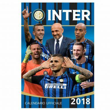 Official Inter Milan 2018 Soccer Calendar