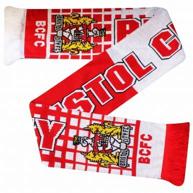 Bristol City Football Fans Souvenir Scarf