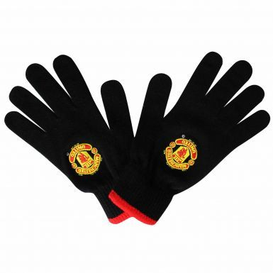 Manchester United Crest Winter Gloves