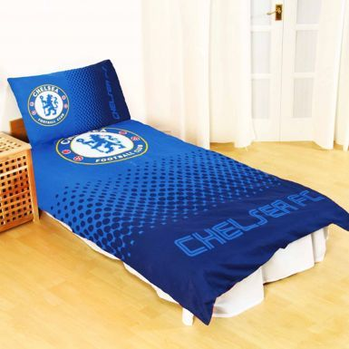 Chelsea FC Single (Twin) Duvet Cover Set With Pillowcase (Reversible)