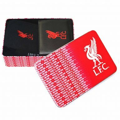 Luxury Liverpool FC Leather Wallet & Socks Gift Set in a Tin
