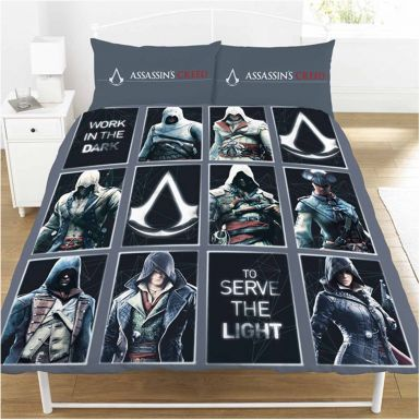 Official Assassins Creed LEGACY Double Bed Duvet Cover Set