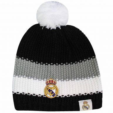 Real Madrid Crest (La Liga) Ski Hat With Bobble