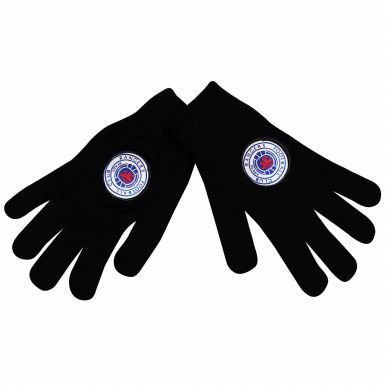 Official Rangers FC Woolly Gloves (Adults)