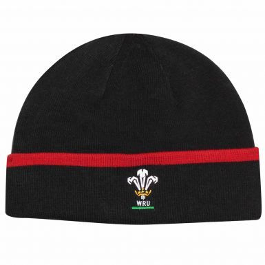 Wales WRU Rugby Crest Beanie Hat by Under Armour