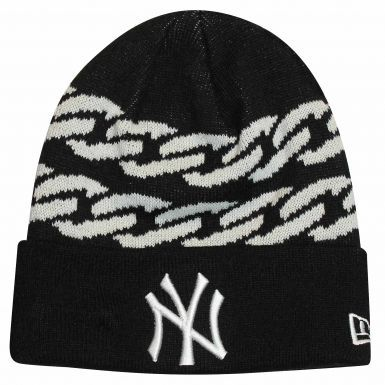 NY New York Yankees (MLB) Bobble Ski Hat by New Era